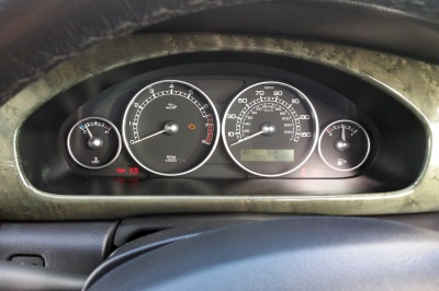 Message Centre programming completed. Note the mileage in this instance was that of the new cluster.